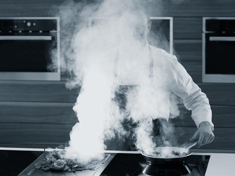 Kochen ohne Dunstabzug