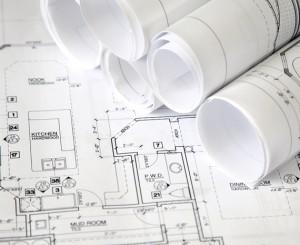 Planung mit fertigen Plänen